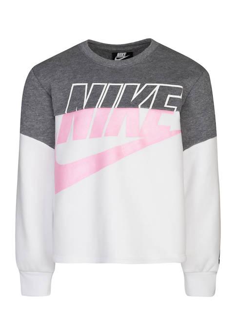 Nike® Girls 4-6x Futura Pullover