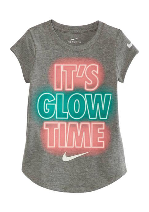 Girls 4-6x Its Glow Time T-Shirt