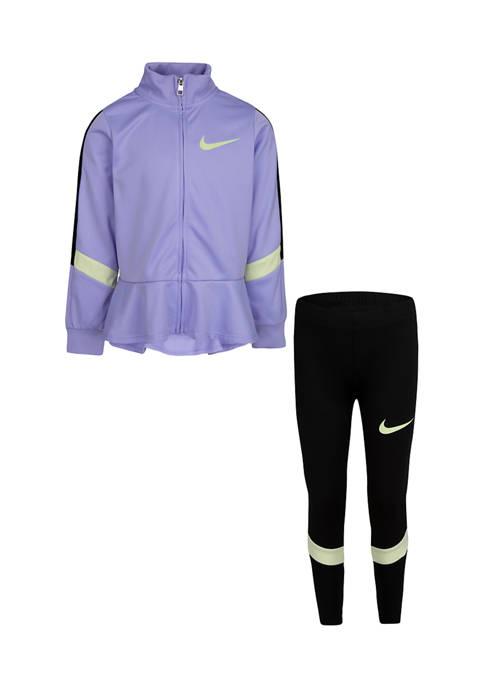 Nike® Girls 4-6x Jacket and Legging Set