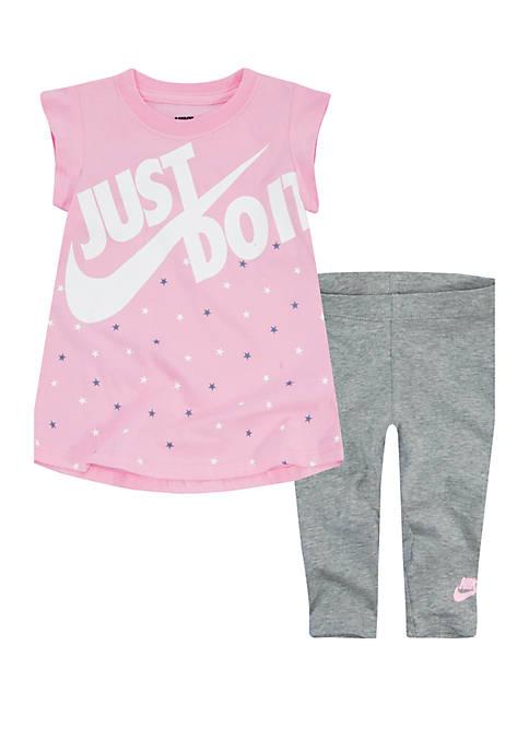 Nike® Girls 2-6x Tunic and Legging Set