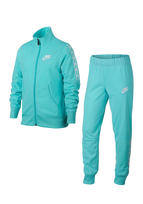 Nike 174 Girls 7 16 Tricot Tracksuit Belk