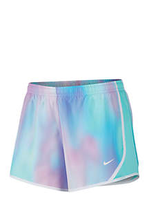 Nike® Girls 7-16 Printed Running Shorts