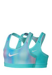 Nike® Girls 7-16 Reversible Printed Sports Bra