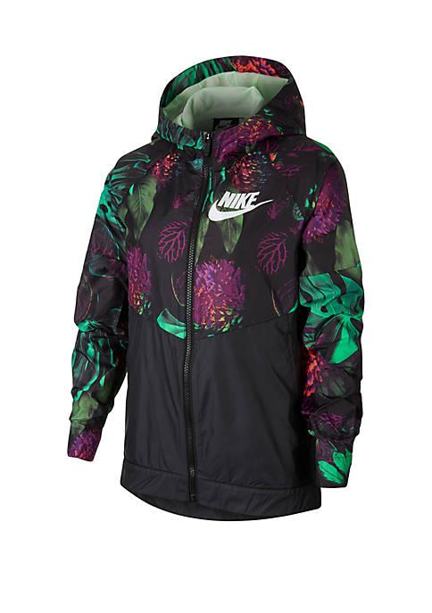 Girls 7-16 Printed Windrunner Jacket