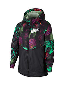 Nike® Girls 7-16 Printed Windrunner Jacket