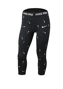 Nike® Girls 7-16 Printed Capris
