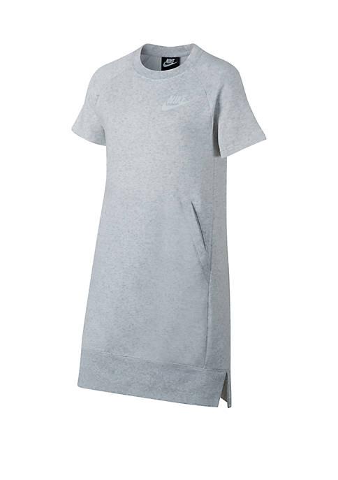 Girls 7 - 16 Fleece Dress