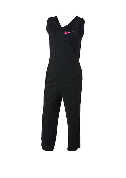 Nike® Girls 7-16 Speckled Jumpsuit