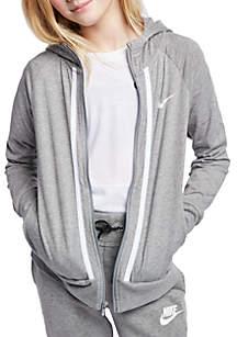3b6a0831c8997 ... Nike® Girls 7-16 Full-Zip Hoodie