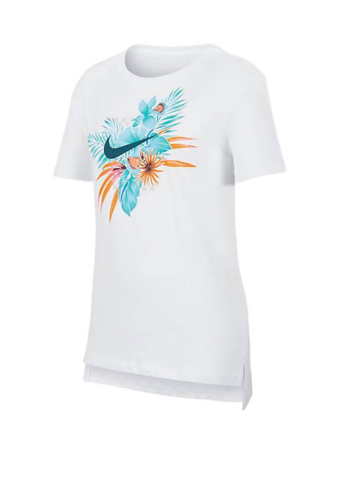 Girls 7-16 Swoosh T Shirt