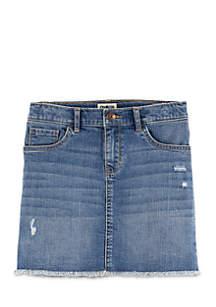 Toddler Girls Classic Denim Skirt