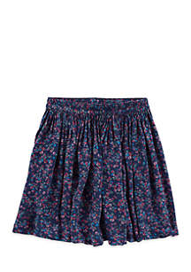 Toddler Girls 4-6x Rayon Skirt