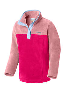 Columbia Girls 7-16 Three Lakes Half Snap Pullover