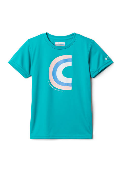 Columbia Girls 7-16 Petit Pond Short Sleeve Graphic