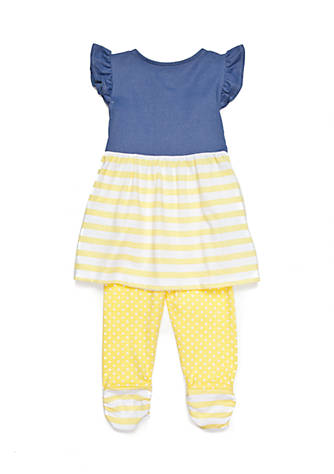 a49229519c74 Nannette Chambray Tunic and Legging 2-Piece Set Girls 4-6x | belk
