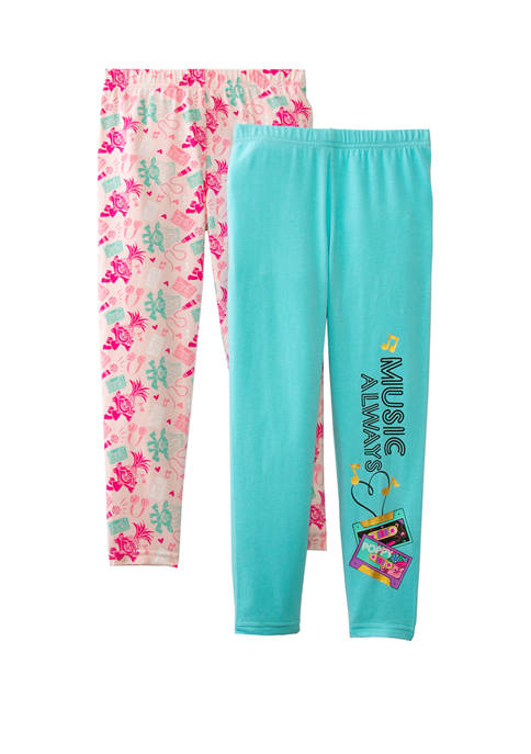 DreamWorks Trolls™ Set of 2 Leggings