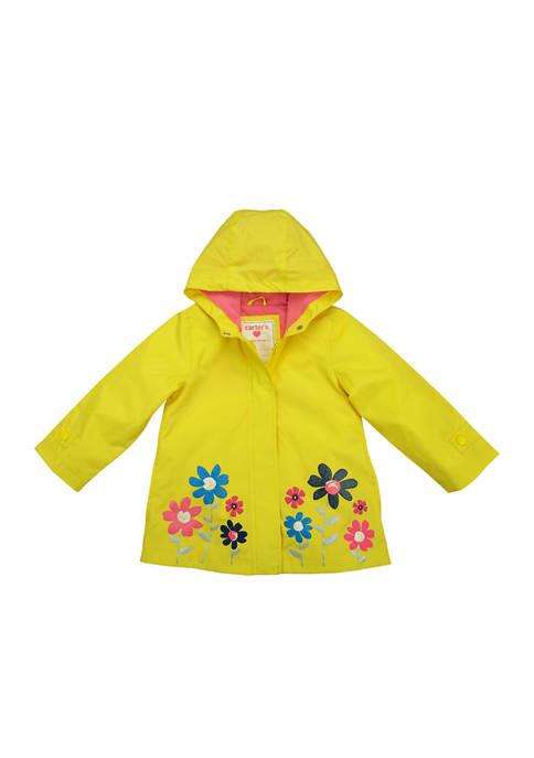 Carter's® Girls 4-6x Yellow Rainslicker