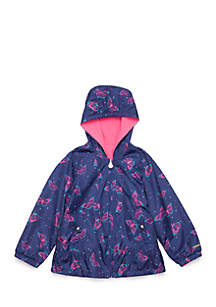 Toddler Girls Reversible Butterfly Jacket