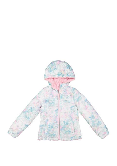 London Fog® Girls Multi Print Jacket