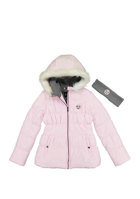 Jessica Simpson Girls 7-16 Puffer Jacket