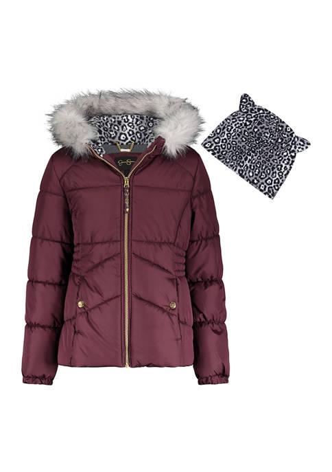 Amerex Girls 7-16 Hazel Puffer Jacket
