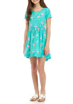 a34d01cef09 One Step Up Girls 7-16 Yummy Short Sleeve Dress ...