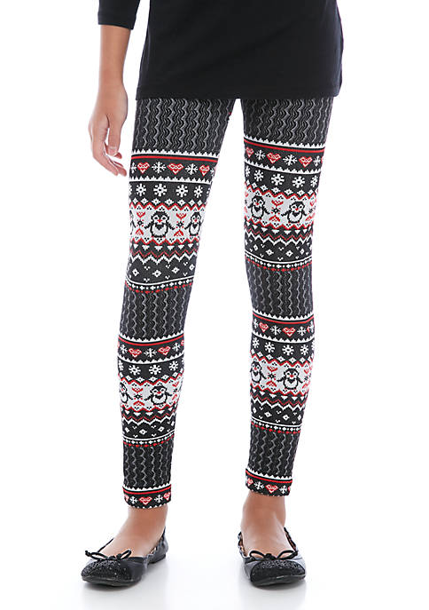 One Step Up Girls 7-16 2 Piece Legging