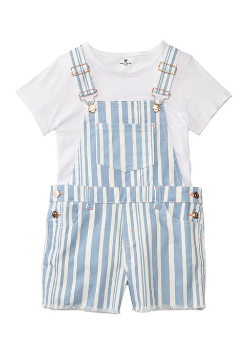 Colette Lilly Girls 7-16 Blue and White Stripe