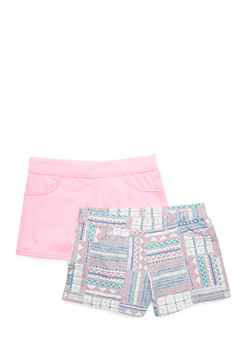 Colette Lilly Girls 7-16 French Terry Short Set
