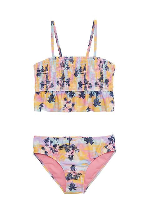 Breaking Waves Girls 7-16 Two Piece Swimsuit