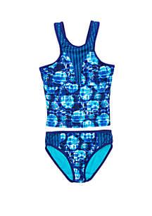 a2af48d661a71 ... Breaking Waves Girls 7-16 Seashell Tankini Swim Set