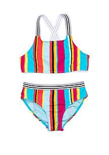 014bc4653c6 ... Breaking Waves Girls 7-16 Taffy Stripe 2 Piece Swim Set