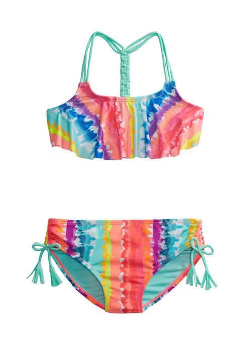 Breaking Waves Girls 7-16 2 Piece Tie Dye