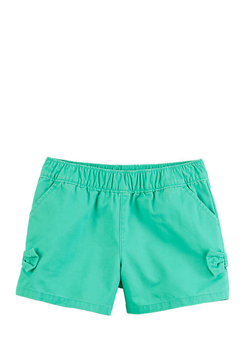 Carter's® Girls 4-8 Easy Pull-On Bow Shorts