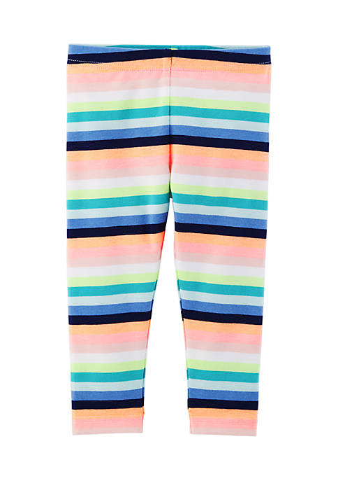 Carter's® Striped Capri Leggings Girls 4-6x