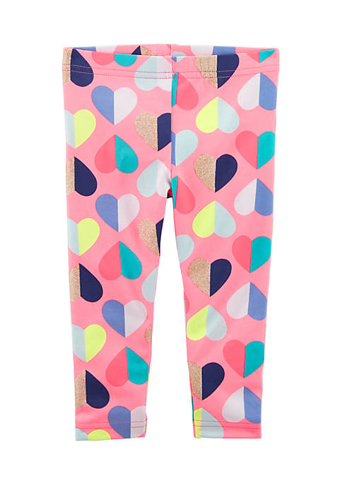 Carter's® Heart Capri Leggings Girls 4-6x