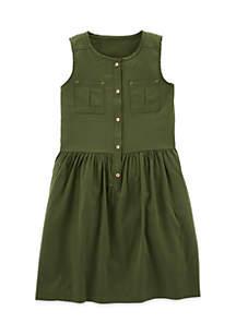 Toddler Girls Pocket Dress