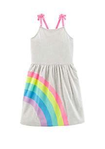Carter's® Girls 4-6x Rainbow Tank Dress