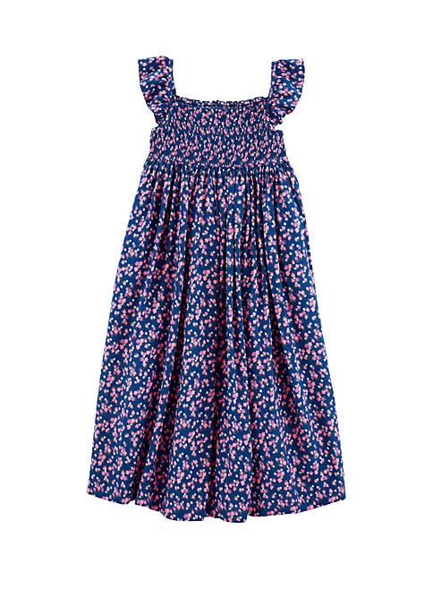Girls 4-6x Floral Maxi Dress