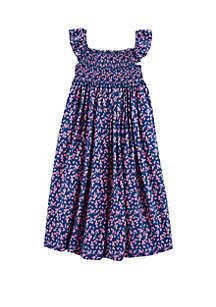 Carter's® Girls 4-6x Floral Maxi Dress