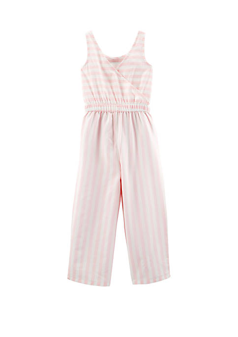 Carter's® Girls 4-8 Striped Tank Jumpsuit
