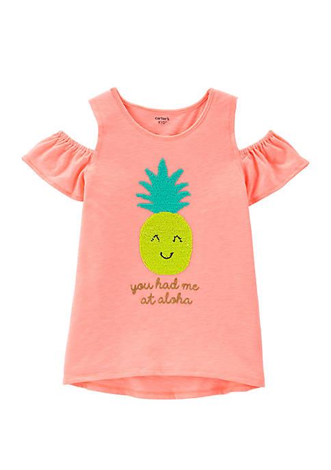 Carter's® Girls 4-6x Pineapple T Shirt
