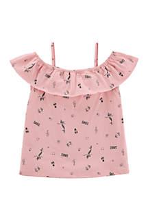 Carter's® Toddler Girls Mermaid Cold Shoulder Top