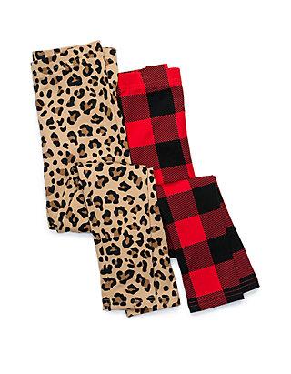 43a988bbfe8b3 Carter's® Toddler Girls Cheetah and Buffalo Plaid Leggings- Set of 2 ...