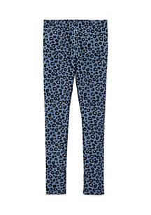Toddler Girls Leopard Print Leggings