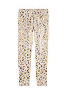 Girls 4-6x Cheetah Print Leggings