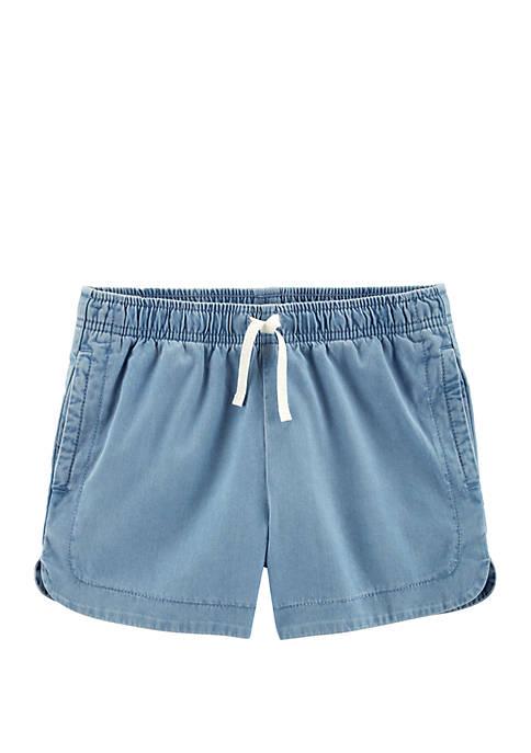Carter's® Girls 4-8 Pull-On Denim Shorts