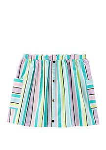 Carter's® Girls 4-6x Striped Poplin Skort