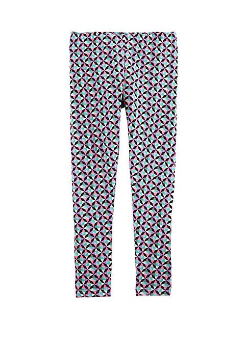 Carter's® Girls 4-8 Geo Print Leggings