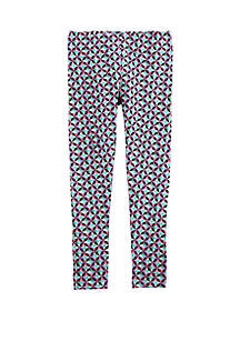 Carter's® Girls 4-8 Geo Print Leggings